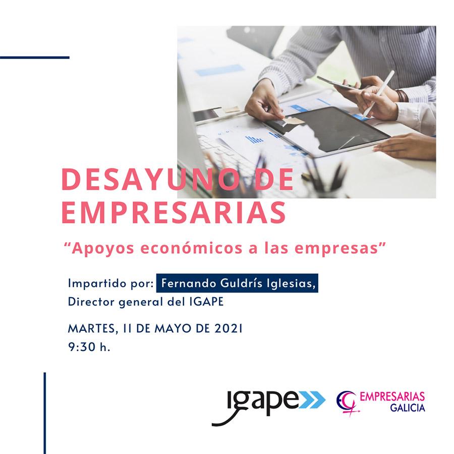 Cartel curso Empresarias Galicia
