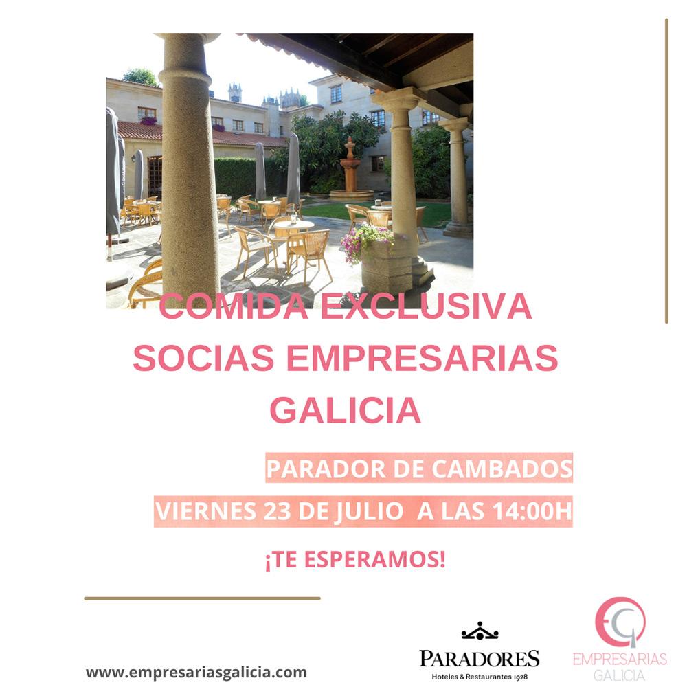 Comida Empresarias Galicia