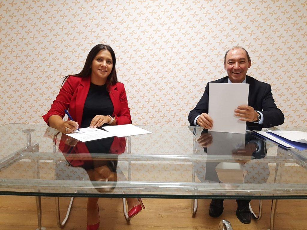 Firma acuerdo colaboración con Galicia Business School